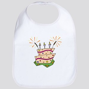 Birthday Cake Bib