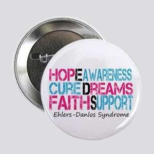 Ehlers Danlos Syndrome Hope Cure Awareness 2.25&qu