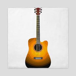 Acoustic Guitar 3 Queen Duvet