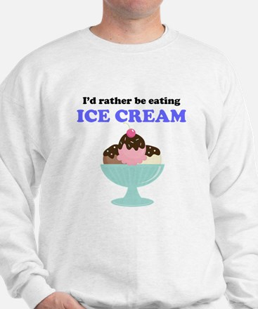 Id Rather Be Eating Ice Cream Jumper