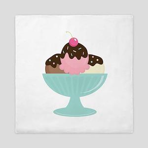 Ice Cream Sundae Queen Duvet