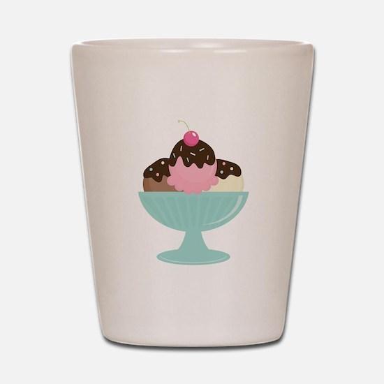 Ice Cream Sundae Shot Glass