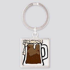 Root Beer Float Keychains