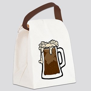 Root Beer Float Canvas Lunch Bag