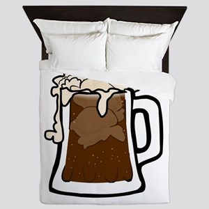Root Beer Float Queen Duvet