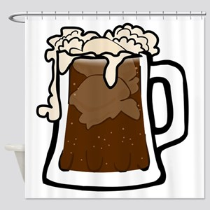 Root Beer Float Shower Curtain