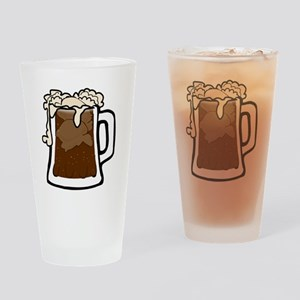 Root Beer Float Drinking Glass