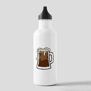 Root Beer Float Water Bottle