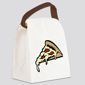 Slice of Pizza Canvas Lunch Bag
