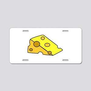 Swiss Cheese Aluminum License Plate