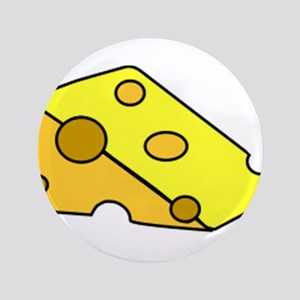"Swiss Cheese 3.5"" Button"