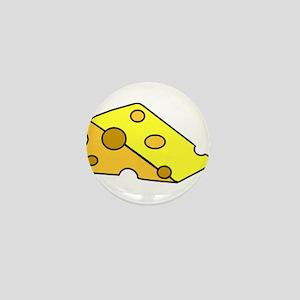 Swiss Cheese Mini Button