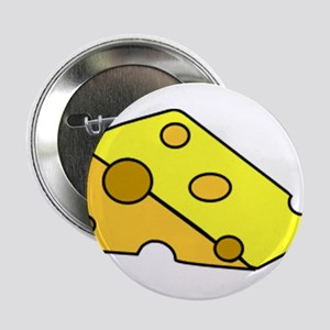 """Swiss Cheese 2.25"""" Button"""