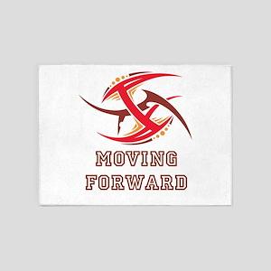 Moving Forward 5'x7'Area Rug