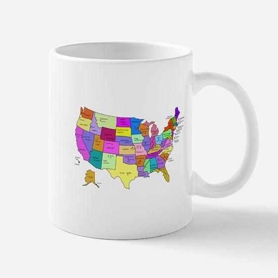 United States and Capital Cities Mug