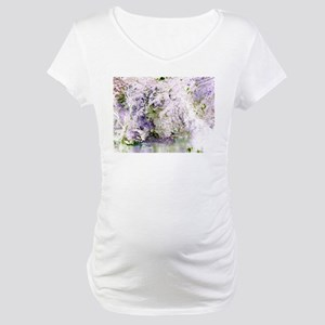 "Abstraction ""Nature"" Maternity T-Shirt"
