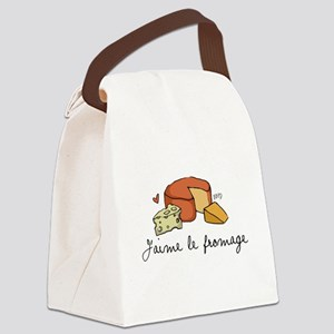 Jaime le fromage Canvas Lunch Bag