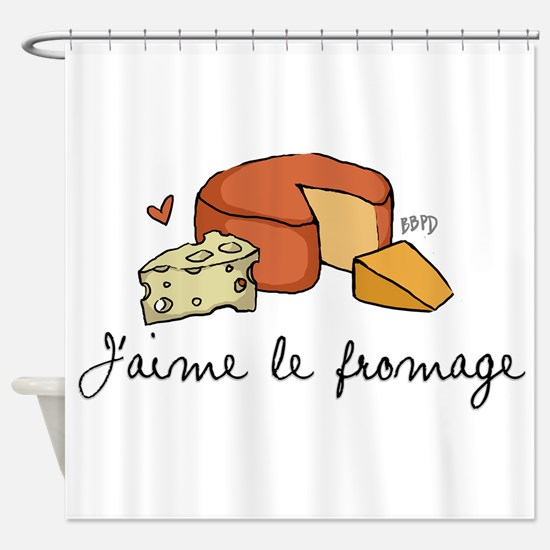 Jaime le fromage Shower Curtain