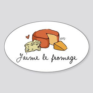 Jaime le fromage Sticker