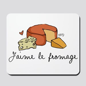 Jaime le fromage Mousepad