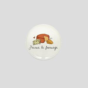 Jaime le fromage Mini Button