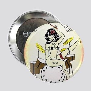 "Drummers Do It Better 2.25"" Button"