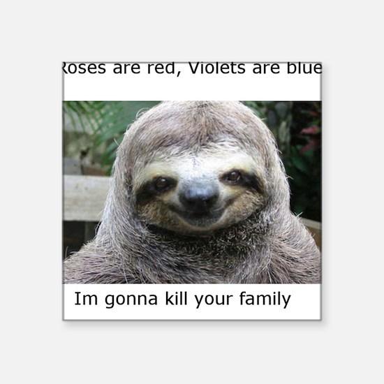 Killer Sloth Sticker