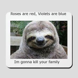 Killer Sloth Mousepad
