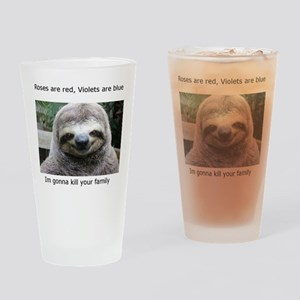 Killer Sloth Drinking Glass