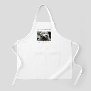Killer Sloth Apron