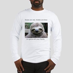 Killer Sloth Long Sleeve T-Shirt