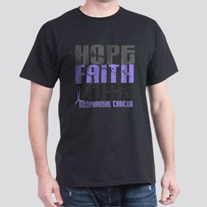 HOPE FAITH CURE Esophageal Cancer T-Shirt