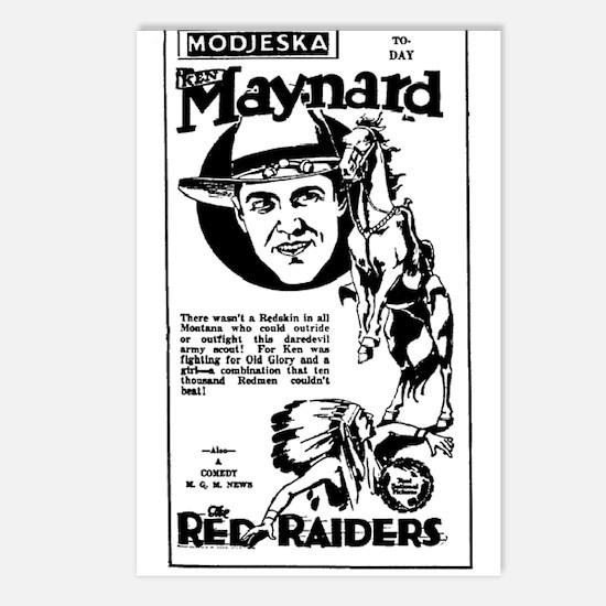 Ken Maynard Postcards (Package of 8)