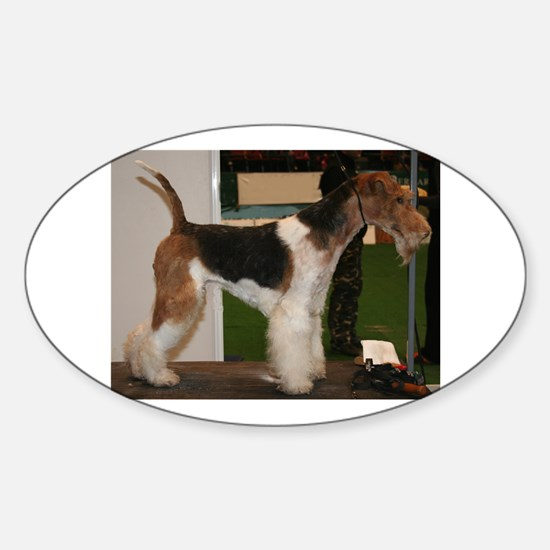 wire fox terrier full Decal