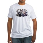 Just Drums Fitted T-Shirt