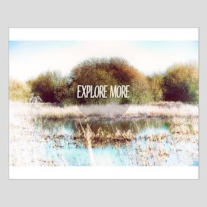Explore More wilderness Poster Design