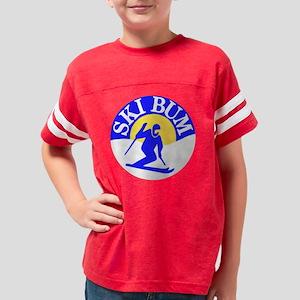 Ski Bum Youth Football Shirt