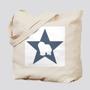Chow Chow Star Tote Bag