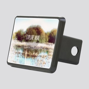 Explore More wilderness Rectangular Hitch Cover