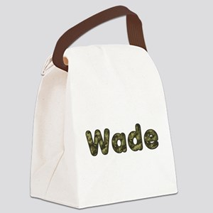 Wade Army Canvas Lunch Bag