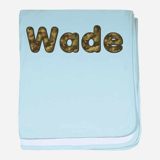Wade Army baby blanket