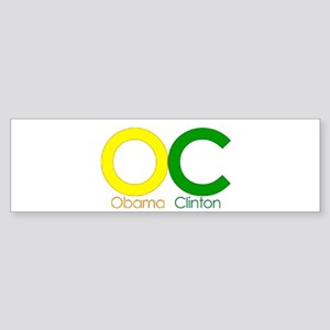 More Barack! With Clinton! Bumper Sticker