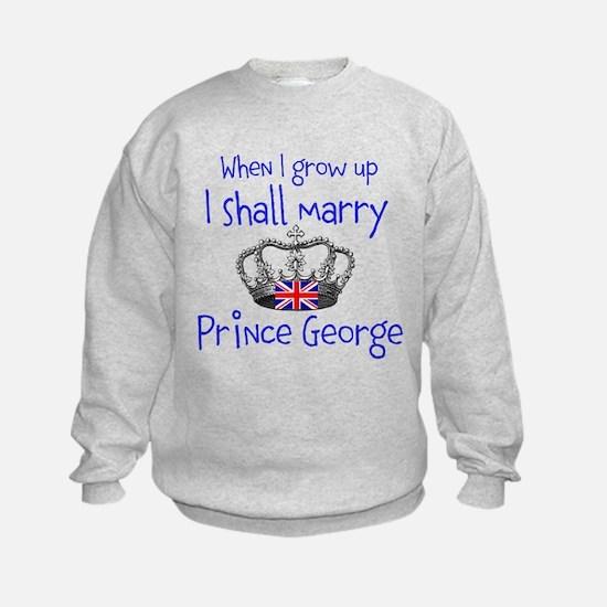 Marry Prince George Sweatshirt