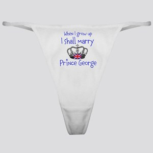 Marry Prince George Classic Thong
