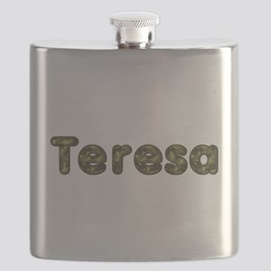 Teresa Army Flask