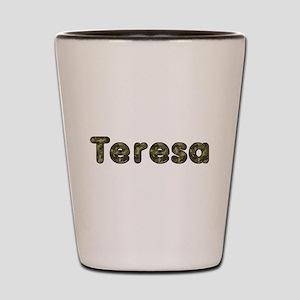 Teresa Army Shot Glass