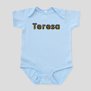 Teresa Army Body Suit