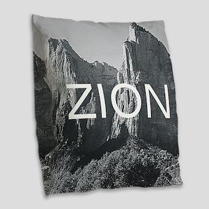 ABH Zion Burlap Throw Pillow