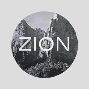 """ABH Zion 3.5"""" Button"""