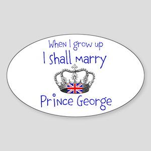 Marry Prince George Sticker